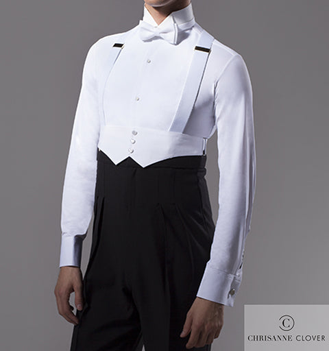 Chrisanne Clover Mens Ballroom Competition Shirt