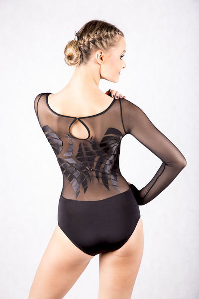 Dancebox Black Wings Body in Black