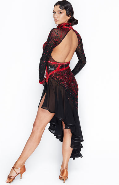 sasuel latin dance dress latin dancesport competition dress from dancewear for you australia in perth