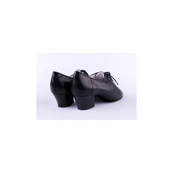 2HB 71901 SF Latin Dance Shoes Black Calf