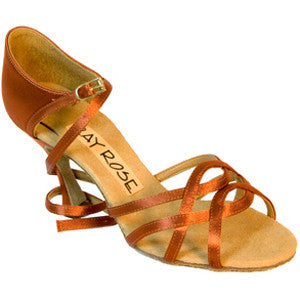 840 Gobi Dark Tan Satin