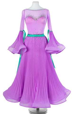 sasuel dancesport costume ballroom competition dress made to measure from dancewear for you australia in perth