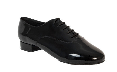 335 Windrush Black Patent Ballroom Shoe