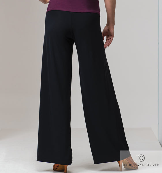 Chrisanne Clover Santuary Practice Trousers in Black