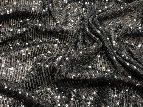 Sequin Jersey Black
