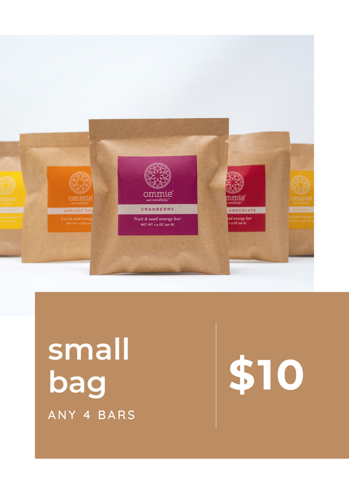 SMALL BAG: 4 bars (Farmers Market Pre-Order)