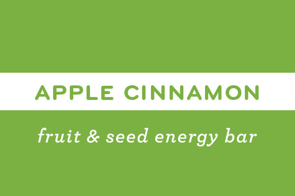 Apple Cinnamon  | Gluten Free Nut Free Vegan Energy Bar - ommiesnacks.com