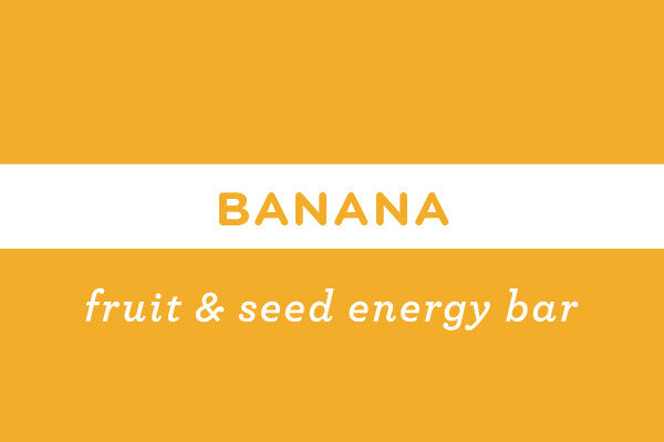 Banana | Gluten Free Nut Free Vegan Energy Bar  - ommiesnacks.com