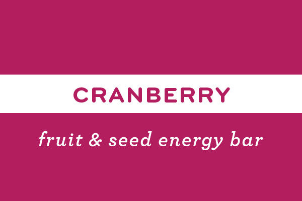 Cranberry | Gluten Free Nut Free Vegan Energy Bar  - ommiesnacks.com