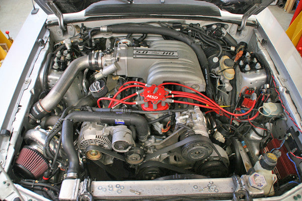 79-93 Mustang Single Turbo System - 350 to 850 HP