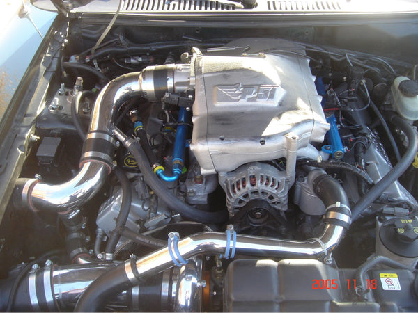 99-04 Mustang GT Single Turbo System - 350 to 850 HP