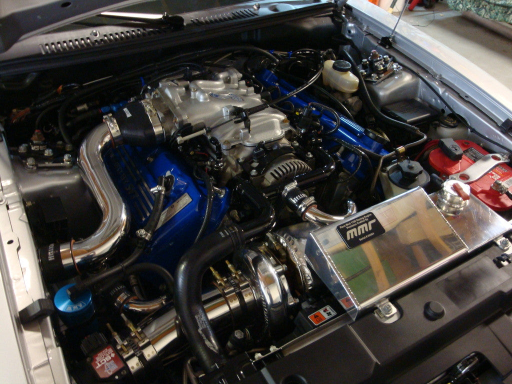 99 & 01 Mustang Cobra Single Turbo System - 350 to 850 HP