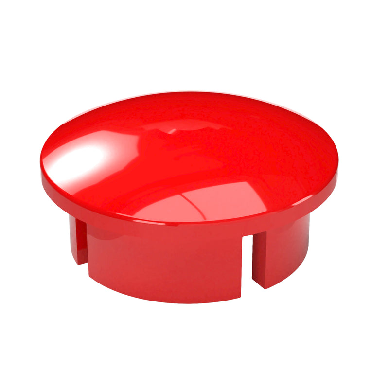 Dome PVC Furniture Grade Cap - Internal Fit - PVC Pipeworks