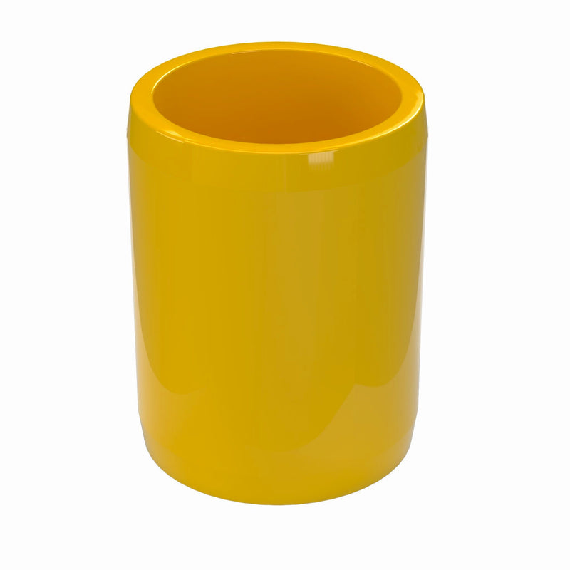 "1/2"" External PVC Furniture Grade Coupler - Pipe Coupling - PVC Pipeworks"