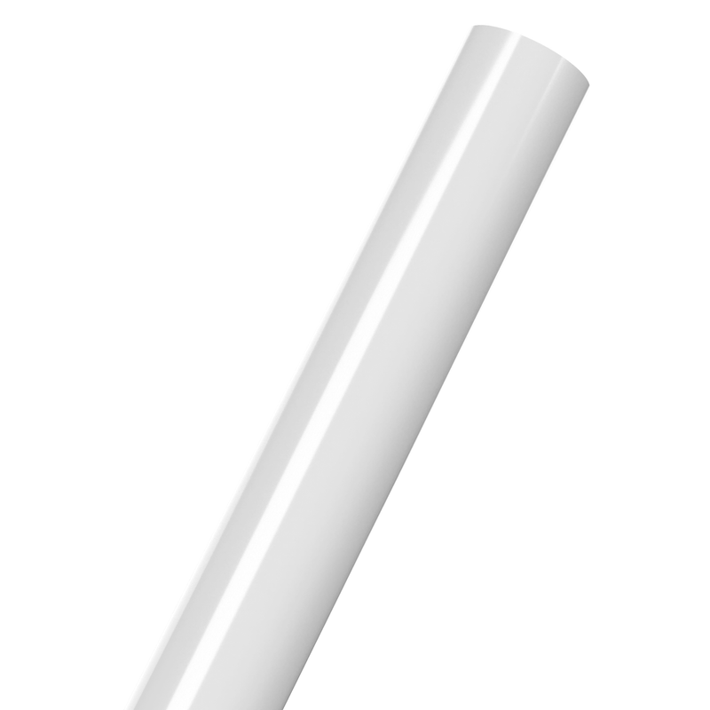 Schedule 40 Furniture Grade PVC Pipe - 5-Feet Long - PVC Pipeworks
