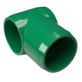 Slip Sling Tee PVC Furniture Grade Fitting - Hinge Joint - PVC Pipeworks