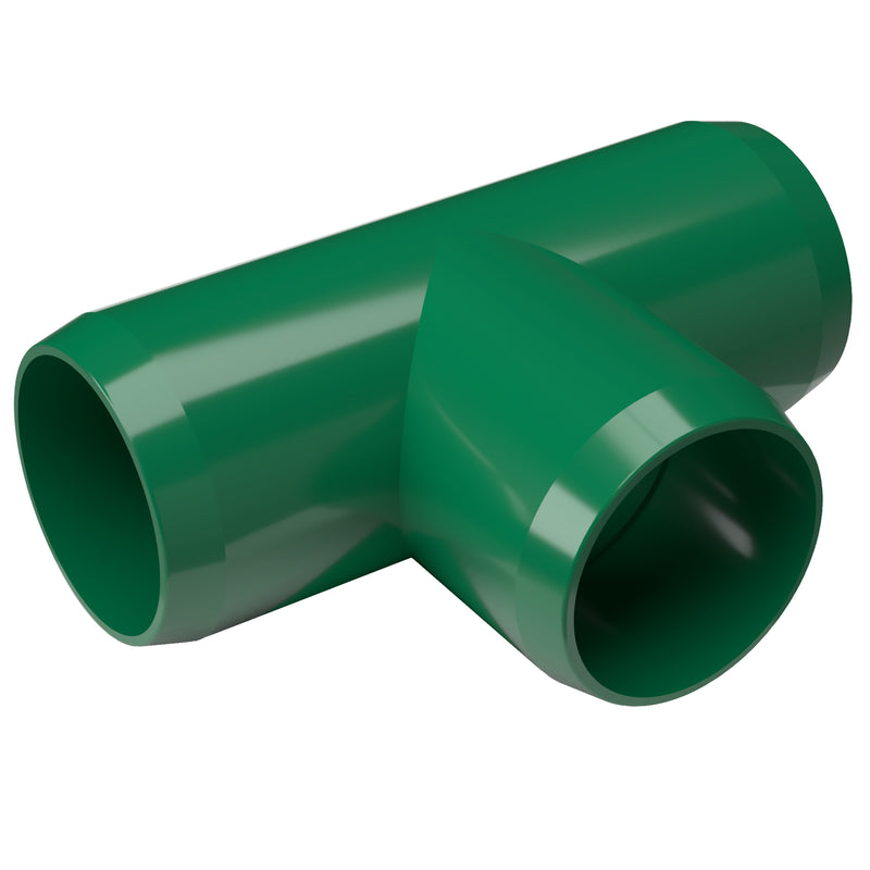 Tee PVC Furniture Grade Fitting - Standard T - PVC Pipeworks