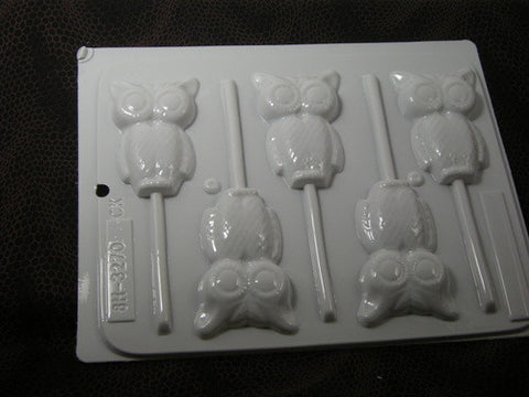 "Owl 3""  Sucker Mold~HS-3270"