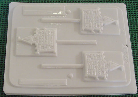 Castle Sucker Mold~HS-13622