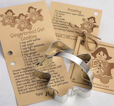 Christmas~Gingerbread Girl Cookie Cutter