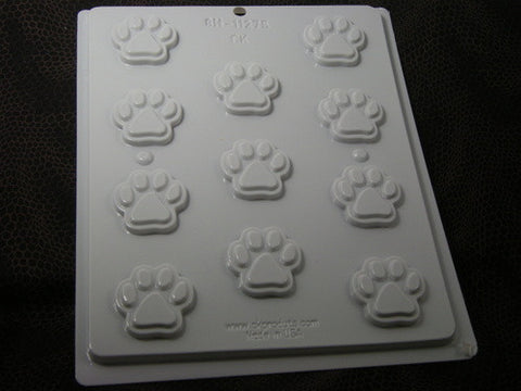 Paw Prints Mold~ HS-11275