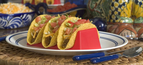 Taco Holder~ Red