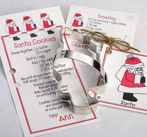 Christmas~Santa Cookie Cutter