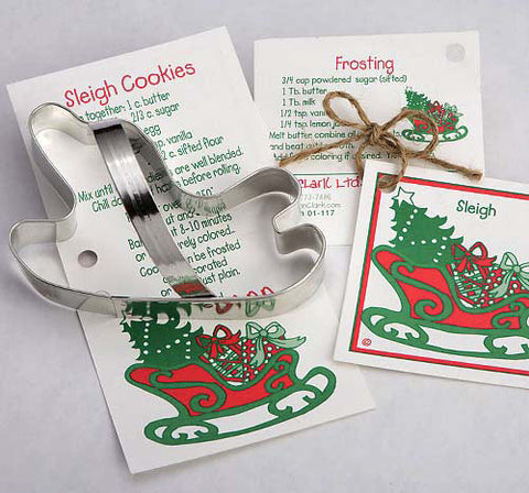 Christmas~Sleigh Cookie Cutter