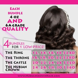 4 hair bundles deal