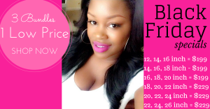 black friday hair extension deal