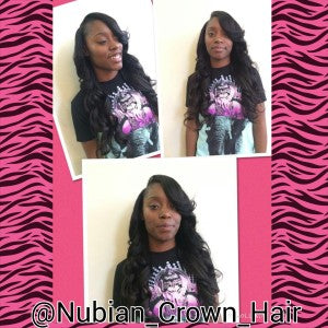 nubian crown hair royale celebrity - Brayanna