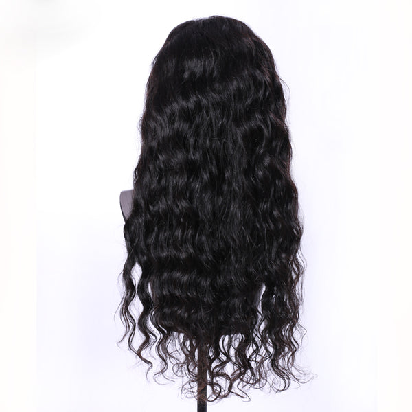 brazilian full lace human hair wig 100% 7a grade quality 22 inches 24 inches 26 inches 13x4 13x6 130 density 150 18 inches 16 in 14 12 10 8