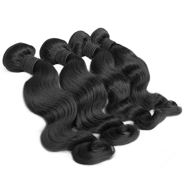 4 bundles deal | body wave | hair extensions | virgin human hair | brazilian bundle deal | 10 12 14 16 18 20 22 24 26 28 30 inch inches | brazilian | malaysian | peruvian 6a 7a 8a