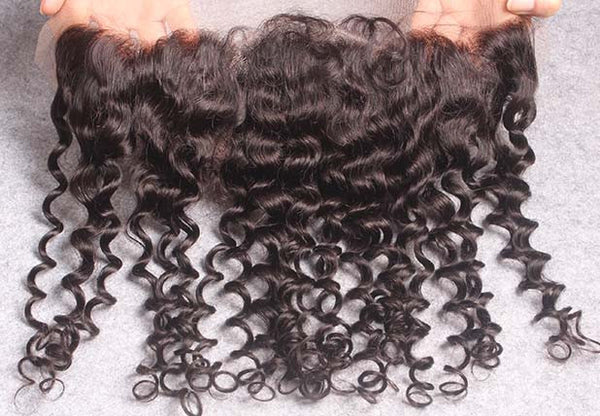 frontal closure | curly lace front closures | hair extensions | virgin human hair | brazilian bundle deal | 10 12 14 16 18 20 22 24 26 28 30 inch inches | brazilian | malaysian | peruvian 6a 7a 8a