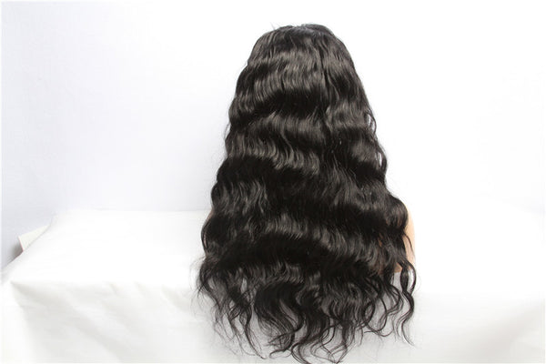 100% virgin human hair full lace frontal wig 130 density 150 density body wave loose deep curly kinky straight brazilian indian malaysian peruvian frontal wigs 8 10 12 14 16 18 20 22 24 26 inches in inch 13x4 13 x 6 13 4