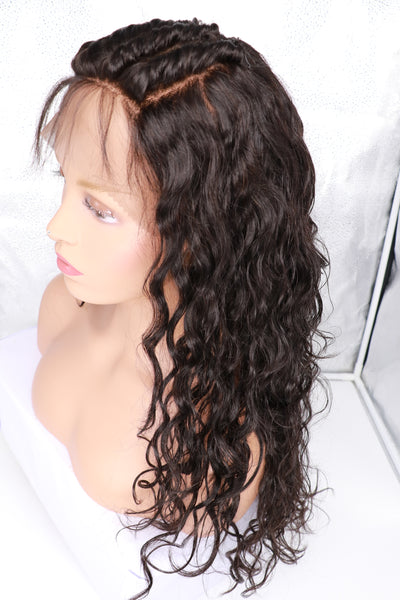 full lace human hair wig 7a grade 100% virgin extensions brazilian malaysian indian peruvian dhl fast shipping cheap excellent real realistic looking black owned african american wigs 8 10 12 14 16 18 20 22 24 26  13x4 13x6 13 inches inch in frontal lace front free part freestyle 3 three 130 density 150