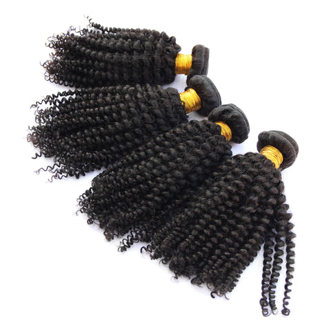 Kinky Curly Hair | afro | natural | 4a 4b 4c | hair extensions | virgin human hair | brazilian bundle deal | 10 12 14 16 18 20 22 24 26 28 30 inch inches | brazilian | malaysian | peruvian 6a 7a 8a