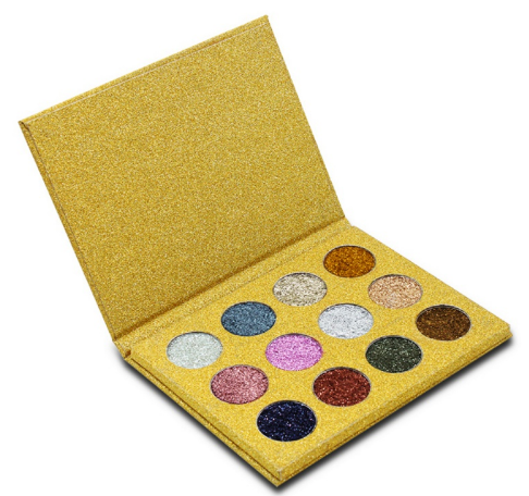 makeup palette glitter shiny multi colors unicorn bling sparkly eye shadow eyeshadow black girls african american caucasian white sparkles shine