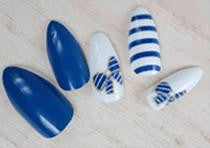 Stiletto Nails | False Nails | Acrylic nails | Fake nails | Artificial nails | glue on nails | Press on nails | blue nails