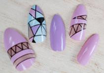 Stiletto Nails | False Nails | Acrylic nails | Fake nails | Artificial nails | glue on nails | Press on nails | stained glass nails