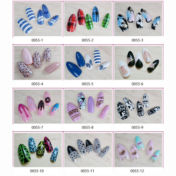 Stiletto Nails | False Nails | Acrylic nails | Fake nails | Artificial nails | glue on nails | Press on nails