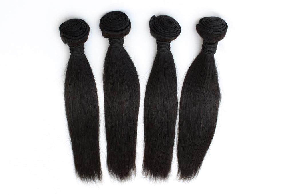 4 bundles deal | straight hair extensions | virgin human hair | brazilian bundle deal | 10 12 14 16 18 20 22 24 26 28 30 inch inches | brazilian | malaysian | peruvian 6a 7a 8a