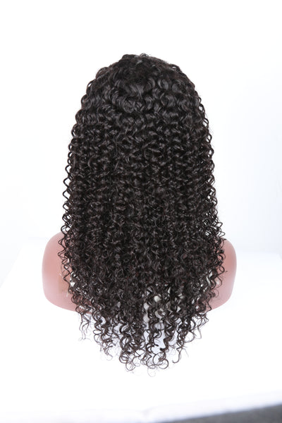 kinky curly full lace human hair wig 130 density 150 frontal wigs 100% virgin 7a grade quality excellent cheap price 8 10 14 12 16 18 20 22 24 26 inches inch in 13x4 13 x 4 13 x 6 4 6 natural hair deep curls 4a 4b 4c