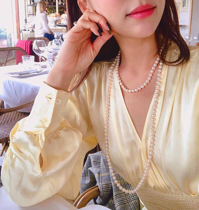 Classic pearl necklace (pre-order)