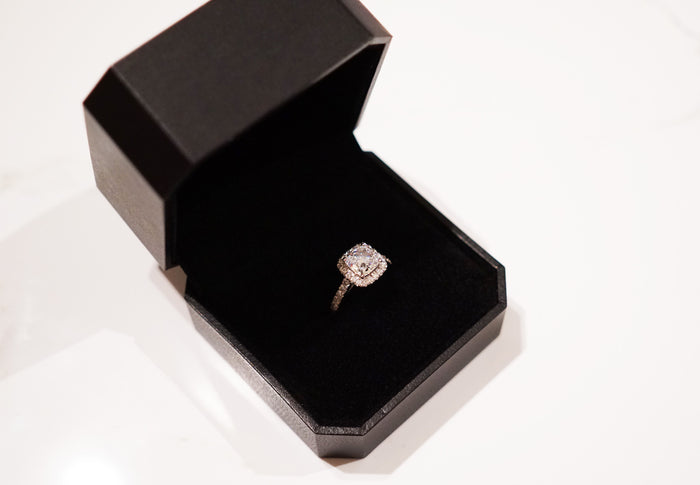 Cushion Cut Color Ring
