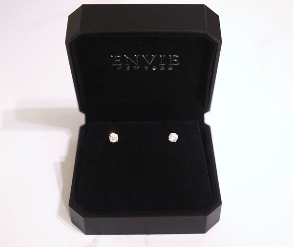 STUD EARRINGS (0.5ct, 1ct, 2ct)