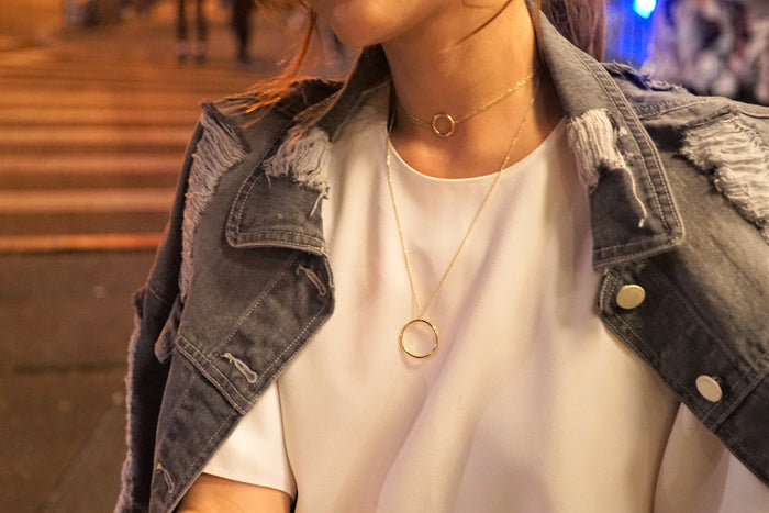 Donut Long Necklace