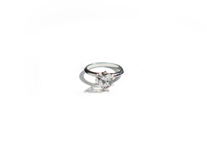 6 Prong Solitaire Ring (1ct, 2ct, 3ct)