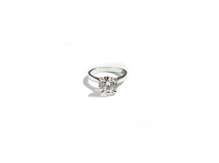 4 Prong Solitaire Ring (1ct, 2ct 3ct)