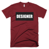 Designer Short-Sleeve T-Shirt (Various Colors)